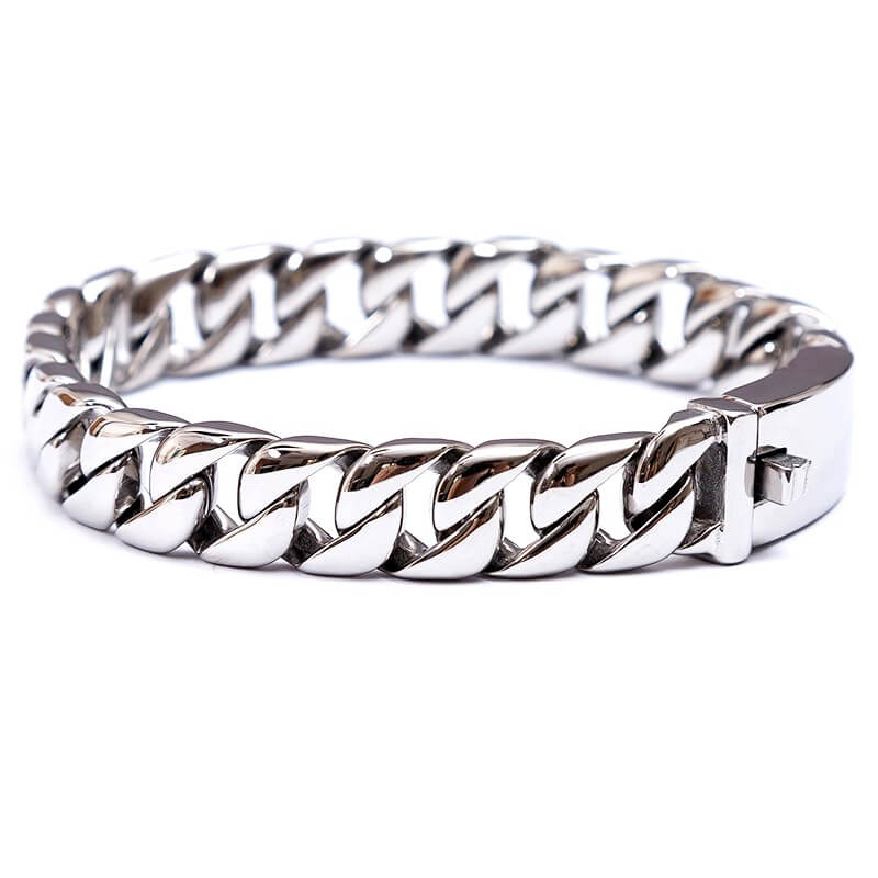 polished-curb-link-chain-stainless-steel-bracelet